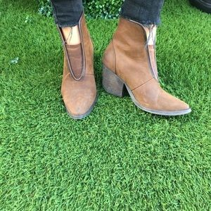 Jeffery Campbell western leather bootie